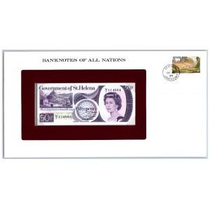 Saint Helena 50 pence 1979
