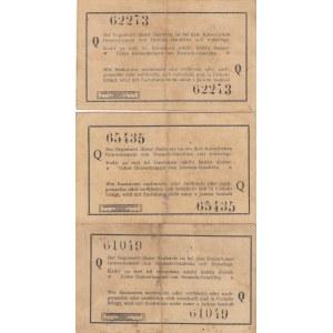 German East- Africa 1 rupee 1915 (3 pcs)