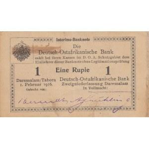 German East- Africa 1 rupee 1916