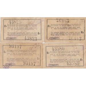 German East- Africa 1 rupee 1916 (4 pcs)