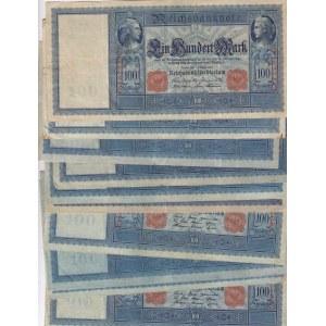 Germany 100 mark 1908 (10 pcs)