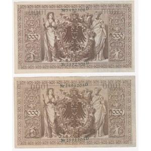 Germany 1000 mark 1910 (2)