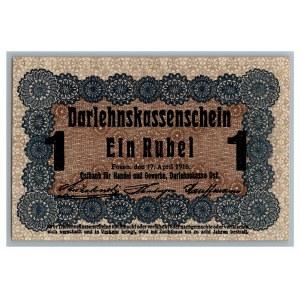 Germany - Posen 1 roubles 1916