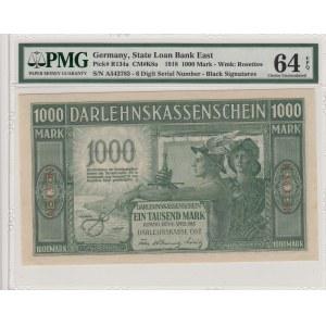 Germany - Lithuania Kowno (Kaunas) 1000 mark 1918 - PMG 64 EPQ