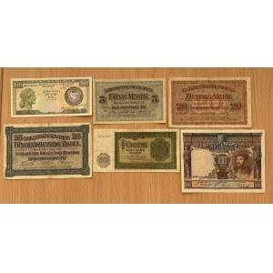 Germany, Spain, Cyprus paper money (6)