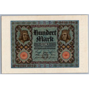 Germany 100 mark 1920