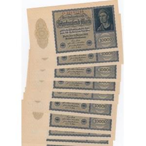 Germany 10 000 mark 1922 (10 pcs)