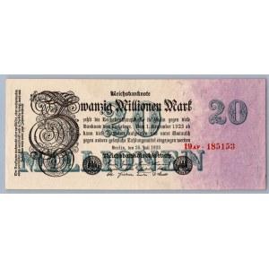 Germany 20 000 000 mark 1923
