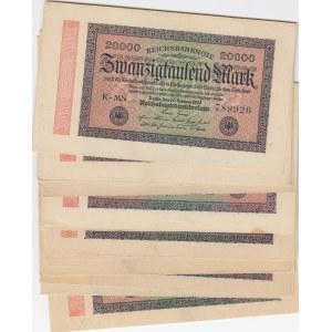 Germany 20 000 mark 1923 (20 pcs)