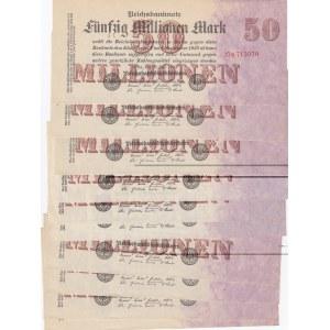 Germany 50 000 000 mark 1923 (10 pcs)