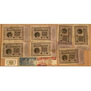 Germany, Singapur, Russia paper money (10)