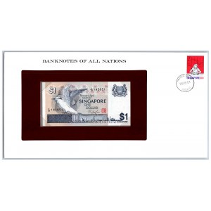 Singapore 1 dollar 1976