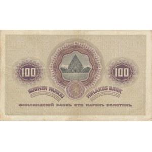 Finland - Russia 100 markkaa 1909