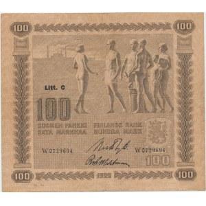 Finland 100 markkaa 1922 Litt C.