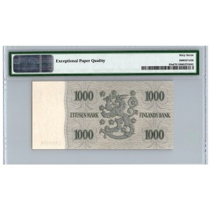 Finland 1000 markkaa 1955 - PMG 67 EPQ