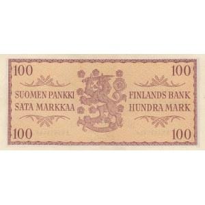 Finland 100 markkaa 1957