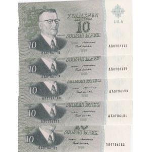 Finland 10 markkaa 1963 (5)