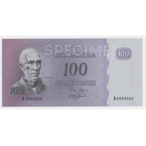 Finland 100 markkaa 1963 - PROOV