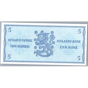 Finland 5 markkaa 1963