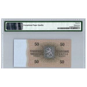 Finland 50 markkaa 1963 - PMG 66 EPQ