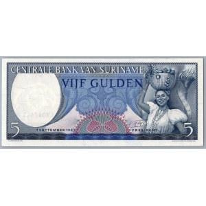 Suriname 5 gulden 1963