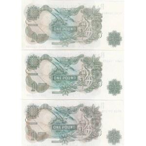 Great Britain 1 pound 1960-77 (3)