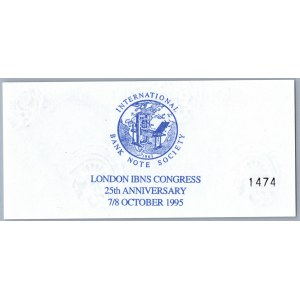 Great Britain London IBNS Congress 25th Anniversary 7/8 october 1995 - Experimental