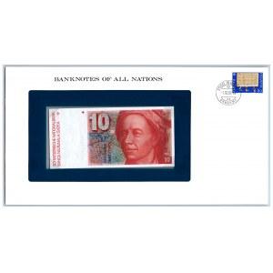 Switzerland 10 francs 1979-92