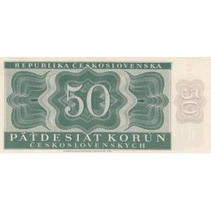 Czechoslovakia 50 korun 1950 - specimen