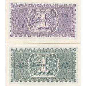 Chile 1 peso 1943 (2 pcs)