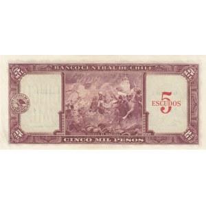 Chile 5 escudos 1960-61
