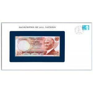 Turkey 20 lira 1974