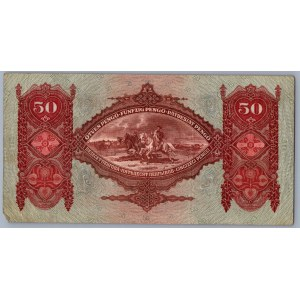 Hungary 50 pengo 1932