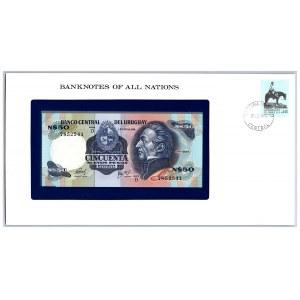 Uruguay 50 nuevos pesos 1978-87