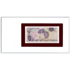 New Zealand 2 dollars 1967-81