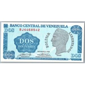 Venezuela 2 bolivares 1989