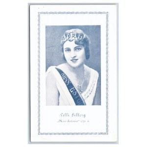 Postcard Estonia Miss Estonia 1931 - Lilli Silberg
