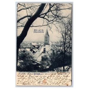 Postcard Estonia Dorpat (Tartu) Johan's church