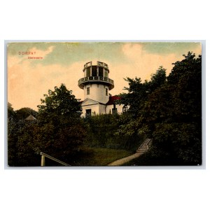Postcard Estonia Dorpat (Tartu) Observatory