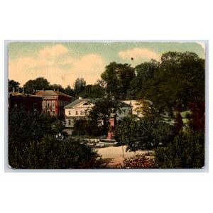 Postcard Estonia Dorpat (Tartu) Barclay de Tolly's monument