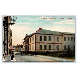 Postcard Estonia Dorpat (Tartu) Gymnasium