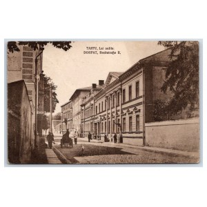Postcard Estonia Dorpat (Tartu) Lai street