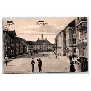 Postcard Estonia Dorpat (Tartu) Town hall