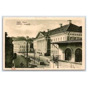 Postcard Estonia Dorpat (Tartu) University of Tartu