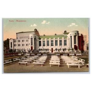 Postcard Estonia Dorpat (Tartu) Theater Wanemuine