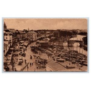 Postcard Estonia Dorpat (Tartu) Market