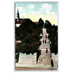 Postcard Estonia Narva Narva Hahn's stairs