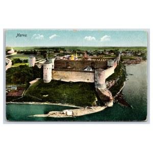 Postcard Estonia Narva Narva Ivangorod's castle