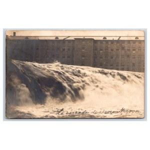 Postcard Estonia Narva Narva waterfall