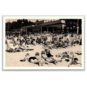 Postcard Estonia Narva-Jõesuu Beach